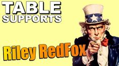Table Supports - Riley RedFox