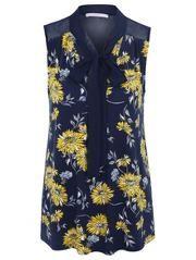 Dandelion Print Vest