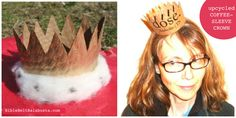 coffee-sleeve crown: an upcycle for Purim http://wp.me/pvKSY-1pd