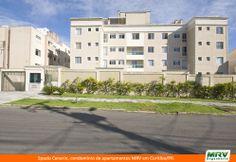 Paisagismo do Cennario. Condomínio fechado de apartamentos localizado em Curitiba / PR.