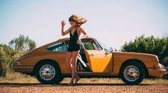 16 Photos Of A Drop Dead Gorgeous Model Hanging Around An '88 Porsche 911 | Airows