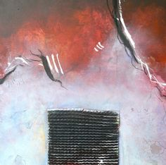Abstract Artwork Mixed Media on Canvas 40 cm x 40 cm 2014