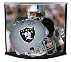 TIM BROWN Autographed / Inscribed Oakland Raiders Proline Helmet w/ Custom Designed Curve Display STEINER LE 81 - Game Day Legends