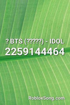 idol bts roblox id