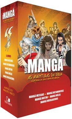 Box Mangá - As Aventuras da Bíblia (5 livros) por R$ 104,63                                                                                                                                                     Mais