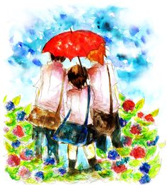 Tags: Anime, MADHOUSE, Pixiv, Traditional Media, Watercolor