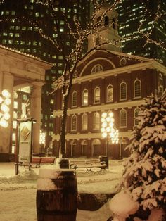 Boston in the Snow...my favorite time of year in this magical city