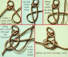 Wonderful DIY Cool Knotted Bracelet | WonderfulDIY.com part10