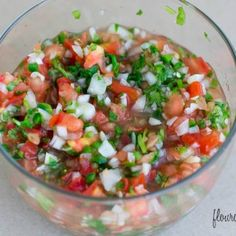 Homemade Pico de Galo reipe is the best Mexican Food Topping