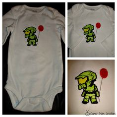 Image result for master chief with balloon onesie