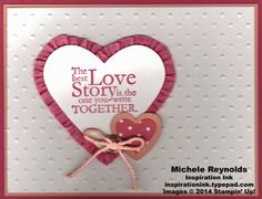 One In a Million Love Story Heart by Michelerey - Cards and Paper Crafts at Splitcoaststampers