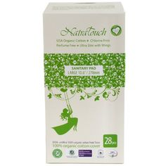 Natratouch Organic Cotton Sanitary Pads Review
