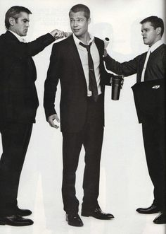 George, Brad and Matt.