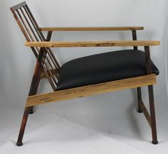 New Mid Century Danish Modern Lounge Chair by ironworks28672