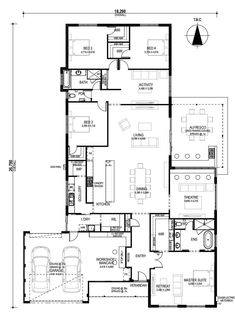 Man cave bathroom 379709812334827732 - Floor Plan Friday: Man cave/workshop anyone? Source by Floor Plan 4 Bedroom, 4 Bedroom House Plans, New House Plans, Dream House Plans, Modern House Plans, Modern House Design, House Floor Plans, Man Cave And Workshop, House Plans Australia
