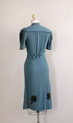vintage 1930s Irish Hills dress di DearGolden su Etsy