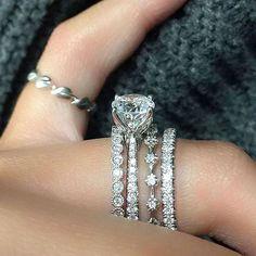 DIAMOND MANSION Custom Engagement Rings / http://www.deerpearlflowers.com/custom-diamond-engagement-rings/