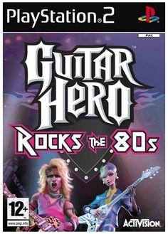 Guitar Hero Rocks the 80s (PS2)