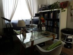 Estudio, home office, work station, oficina en casa
