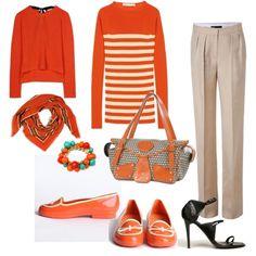 Tangerine Upscaled- love this, plus it's my mia bossi diaper bag in tangerine instead of cherry! Love Mia bossi!!