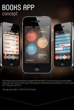 Mobile APPs and Website for OldBooth / by Michael Tomaka, via Behance, iPhone UI