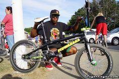 Jeff Upshaw, 2015 Kuwahara  Lachesis Bike Check #BMX
