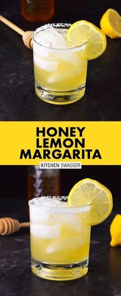 Honey Lemon & Grand Marnier Margarita Recipe The honey lemon & Grand Marnier margarita is made with Añejo tequila, Grand Marnier, lemon juice, and honey syrup. A refreshing and warm buzz. Margarita Recipes, Cocktail Recipes, Drink Recipes, Alcohol Recipes, Tequila Drinks, Bourbon Cocktails, Summer Cocktails, Ideas, Margaritas