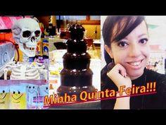 Vlog!! Minha Quinta- Feira   Canecas fofas, Enfeites para halloween e muito mais - YouTube