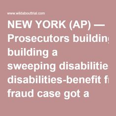 NEW YORK (AP) — Prosecutors building a sweeping disabilities-benefit fraud case got a trove of data from the Facebook accounts of more than 380 people, the social media giant said this week as it disclosed a nearly yearlong legal fight over the largest set of search warrants it has ever received. Facebook ultimately turned over the information but is appealing the court order that required it to do so, saying prosecutors intruded on users' privacy. The Manhattan district attorney's office…
