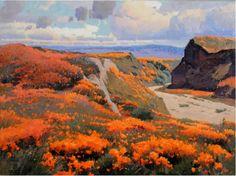 Artist: Calvin Liang - Title: California Wildflowers