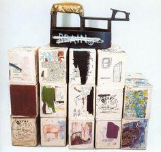 Jean-Michel Basquiat, Brain, 1985