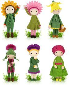 Zabbez Flower Dolls Pattern Giveaway