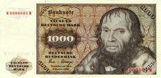 german banknote