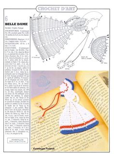 Dame plate au crochet - Le monde-creatif