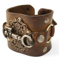 Brown Leather Bracel