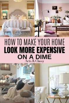 Check out 10 tips on how to make your home look more expensive on your budget! I have found that it doesnt cost a lot of money to make your home look nice. Learn the basics of how to make your home look the way you want it to. Living Room Decor On A Budget, Apartment Decorating On A Budget, Budget Bedroom, My Living Room, Rental House Decorating, Teen Bedroom, Bedroom Decor For Couples On A Budget, Decorating Small Living Room, Renting Decorating