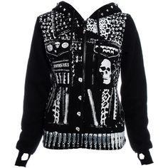 Jawbreaker Hooded Jacket (Black)