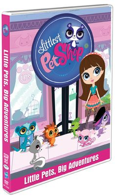 Littlest Pet Shop: Little Pets, Big Adventures on DVD! Review & Giveaway (US only)