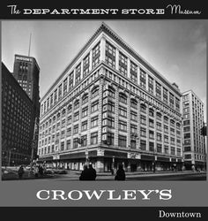 Crowley's: Detroit's Friendly Store   is now available on Amazon and will   be in the shops in November.     Click the phot...