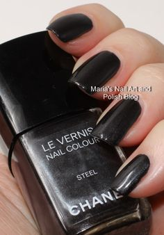 Chanel Steel SoHo Story collection fall 2010 swatches