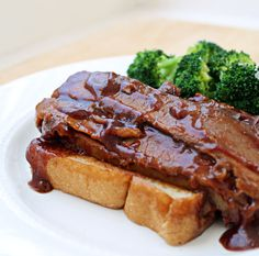 Skip the local barbecue joints - FOREVER. Slow Cooker Beef Brisket is melt-in-your-mouth tender and better than anything you can find in a restaurant!