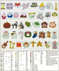 http://www.handmade-adelaide-baby.com/support-files/free-cross-stitch-patterns.pdf  ver Mais