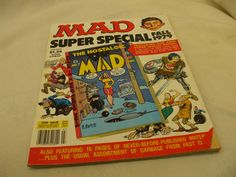 """MAD! """"SUPER SPECIAL FALL 1979""""! """"THE NOSTALGIC MAD"""" (NO.7) IS INCLUDED! AS IS!"""