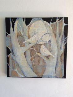 Painting by Sue Davis , Fort Wayne, Indiana acrylic painting  20x20.