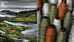 Finsbay, Isle of Harris   I'm a big fan of Ian's wok, Not necessarily keen on the palette, but love the way he matched the tweed palettes with the landscape