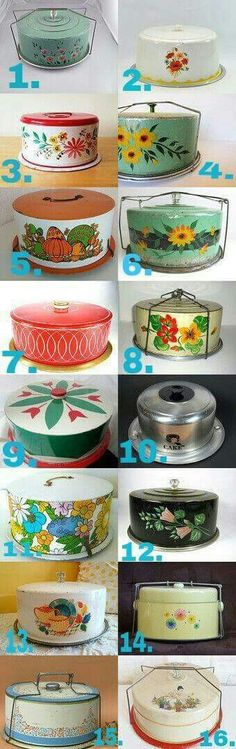 Vintage Cake Savers