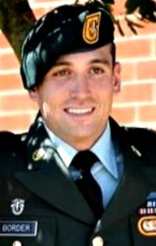 Army SSG. Jeremie S. Border, 28, of Mesquite, Texas. Died September 1, 2012, serving during Operation Enduring Freedom. Assigned to 1st Battalion, 1st Special Forces Group (Airborne), Torii Station, Japan. Died in Batur Village, Afghanistan, of wounds suffered when enemy forces attacked their unit with small arms fire.