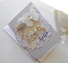 {Simply Creative} : The Pink Petticoat Blog by Liz Armstrong: How To Make The Simplest Shaker Card