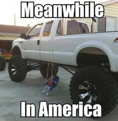 Really Funny Memes, Stupid Funny Memes, Funny Laugh, Funny Relatable Memes, Hilarious, Custom Lifted Trucks, Jacked Up Trucks, Big Trucks, Lifted Jeeps