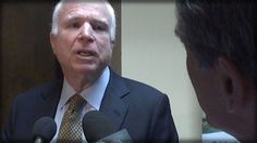 TRAITOR ALERT! THIS REPORTER ASK MCCAIN 1 QUESTION & WATCH MCCAIN GO INSANE ON HIM! - YouTube